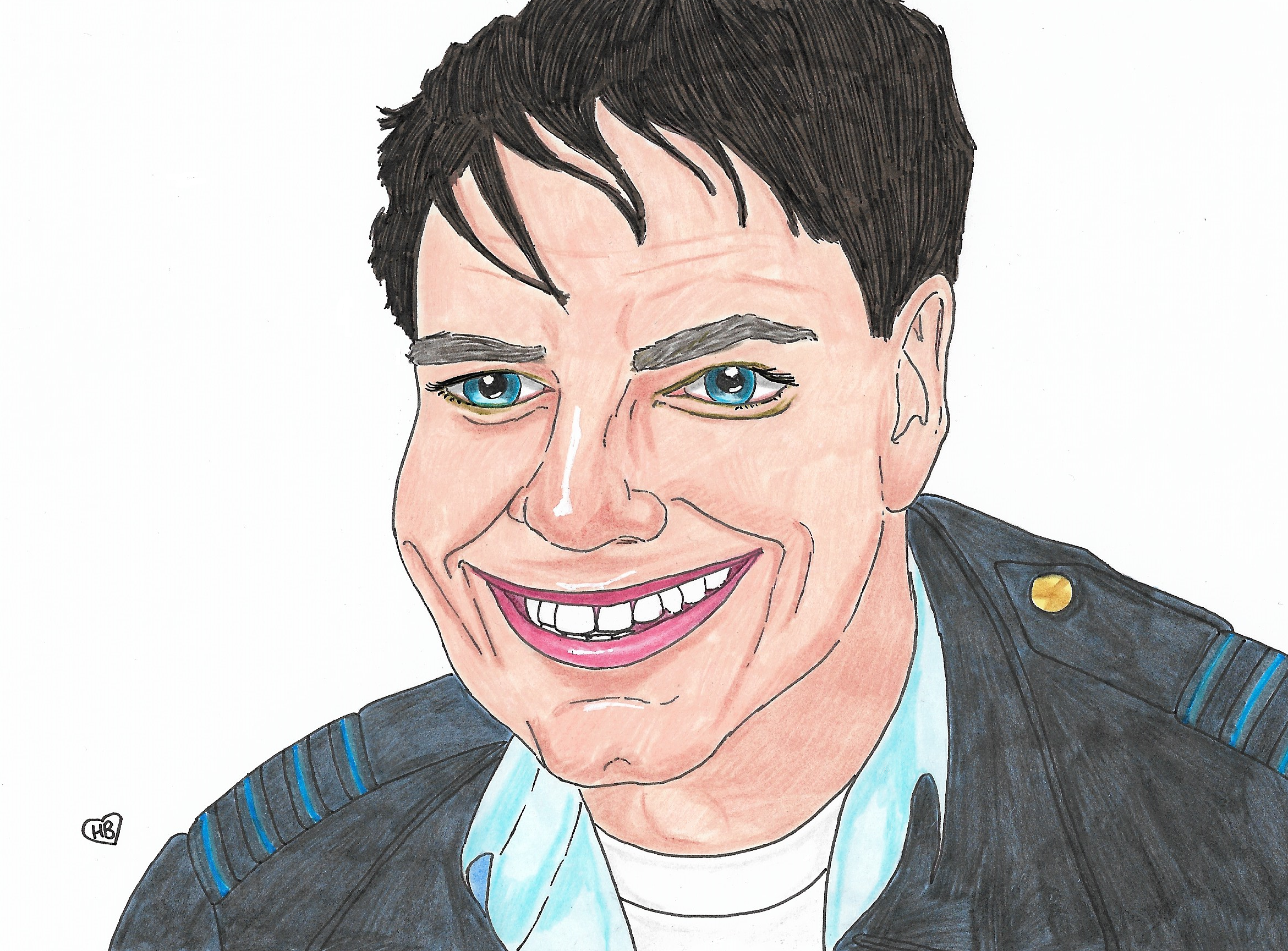 Doctor Who Art: John Barrowman as Captain Jack Harkness ...